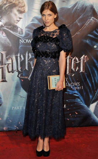 Photos of Clemence Poesy at the Harry Potter Premiere in London