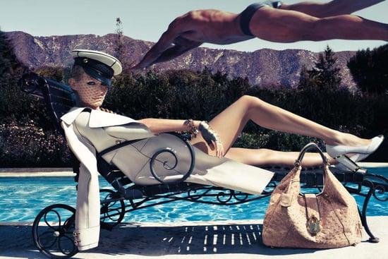Amber Valletta Joins the Spring 2009 Supermodel Threat for Loewe