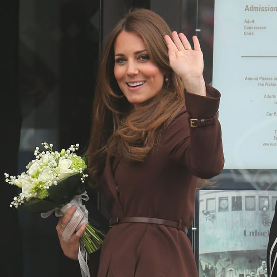 Kate Middleton Shows Baby Bump | Pictures