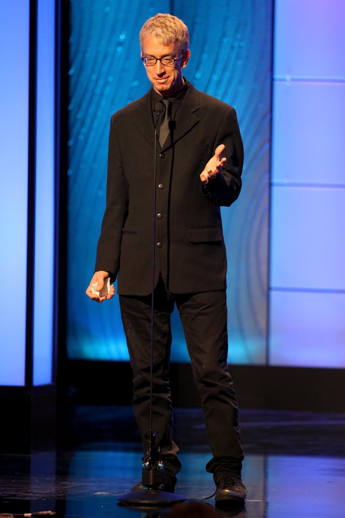 Andy Dick was on stage at the American Cinematheque Awards.