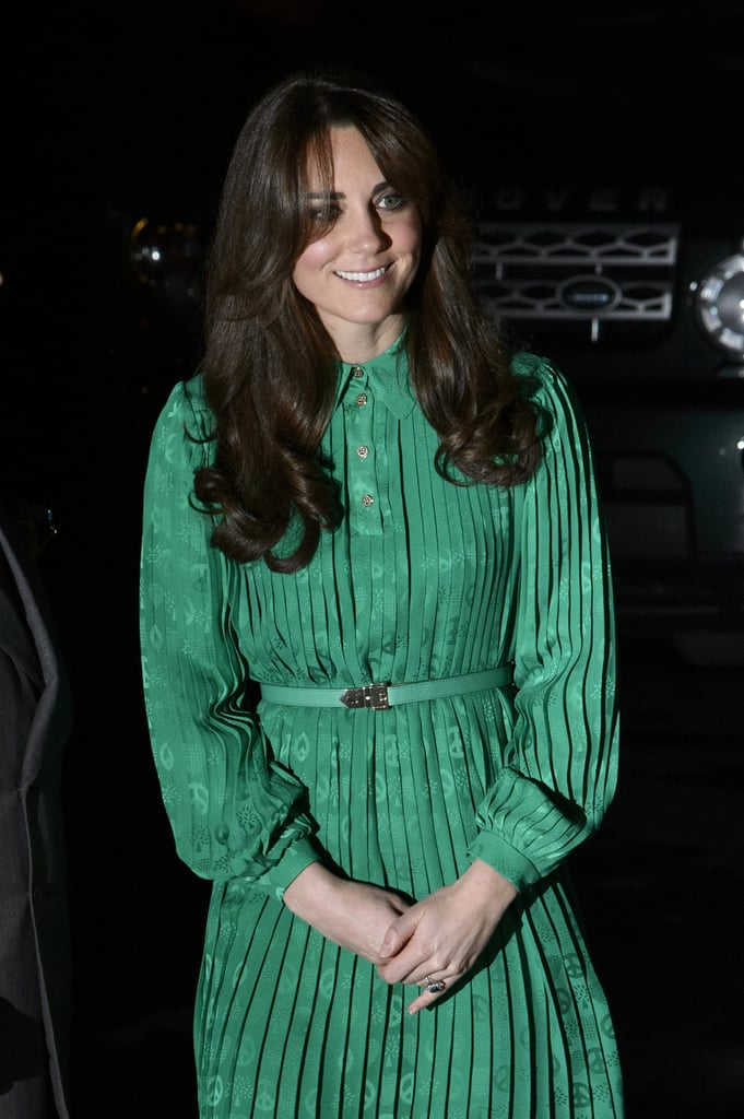 Kate Middleton Goes Green —Again —at a Natural History Museum Reception