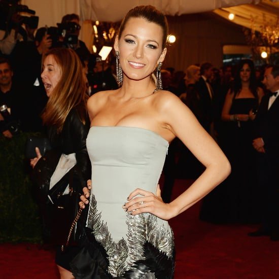 Blake Lively on Met Gala 2013 Red Carpet