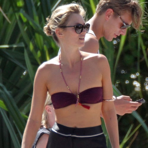 Kate Moss in a Bikini With Jamie Hince | Pictures