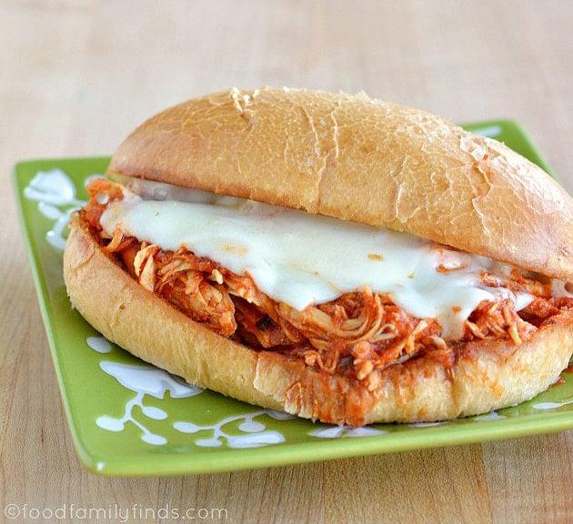 Chicken Parmigiana Sandwiches