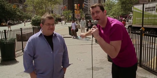 Patton Oswalt Hits The Street With Billy Eichner Who Is FURIOUS About 'Ratatouille'