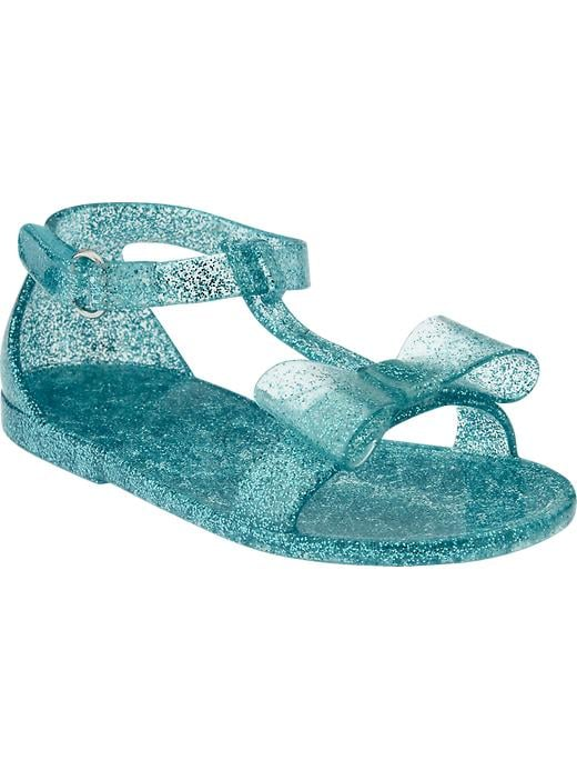 Old Navy Bow-Tie Jelly Sandals