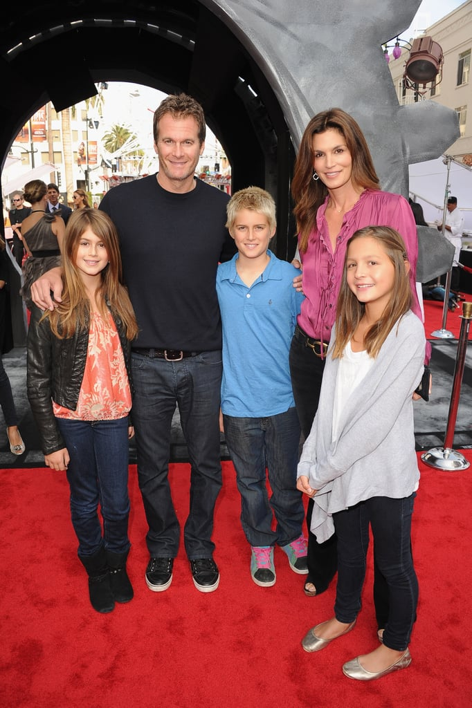 Rande Gerber, Cindy Crawford and their Kids