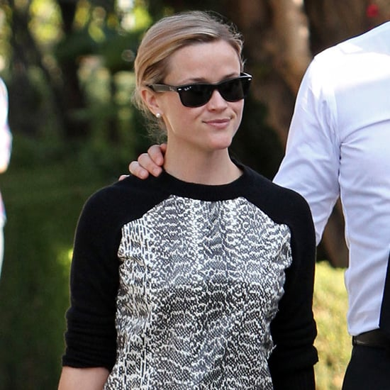 Reese Witherspoon Wearing Jason Wu Baseball Sweater
