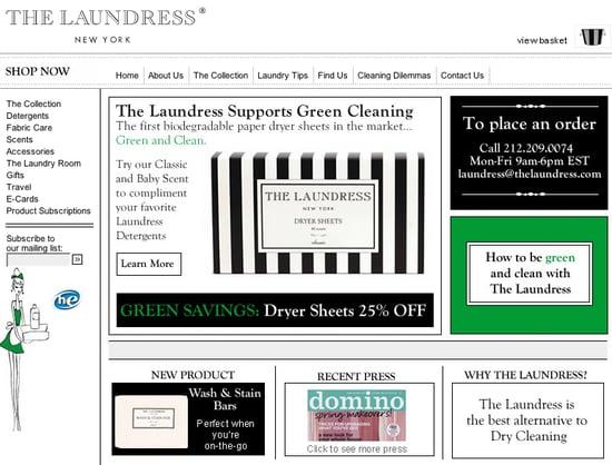 Fab Site: TheLaundress.com