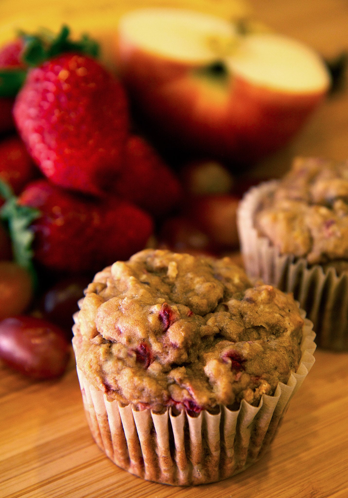 Fruit-Filled Muffins