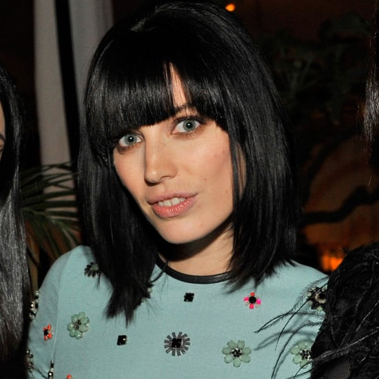 Jessica Pare's Bangs Haircut | 2013