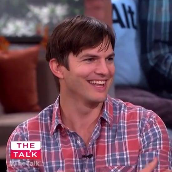 Ashton Kutcher on The Talk October 2014   Video