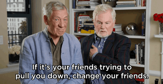 Ian McKellen And Derek Jacobi Share Advice On Love, Friendship, And Combatting Ignorance