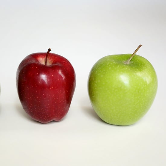 What Makes Apples Shiny?