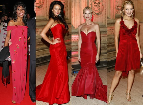 2008 National Television Awards, Red Carpet, Celebrity Style