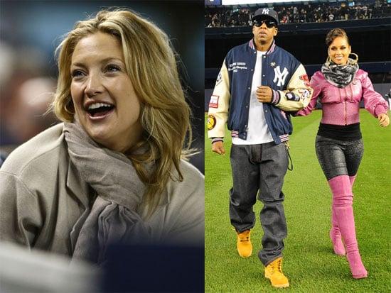 Photos of Kate Hudson, Jay-Z and Alicia Keys at the World Series 2009-10-29 20:58:56