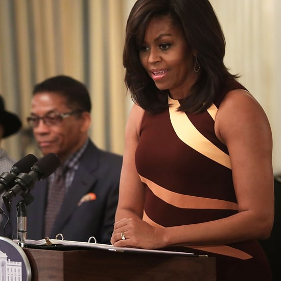 Michelle Obama Narciso Rodriguez Dress April 2016