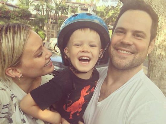 Hilary Duff and Ex Mike Comrie Celebrate Son Luca's 4th Birthday Together