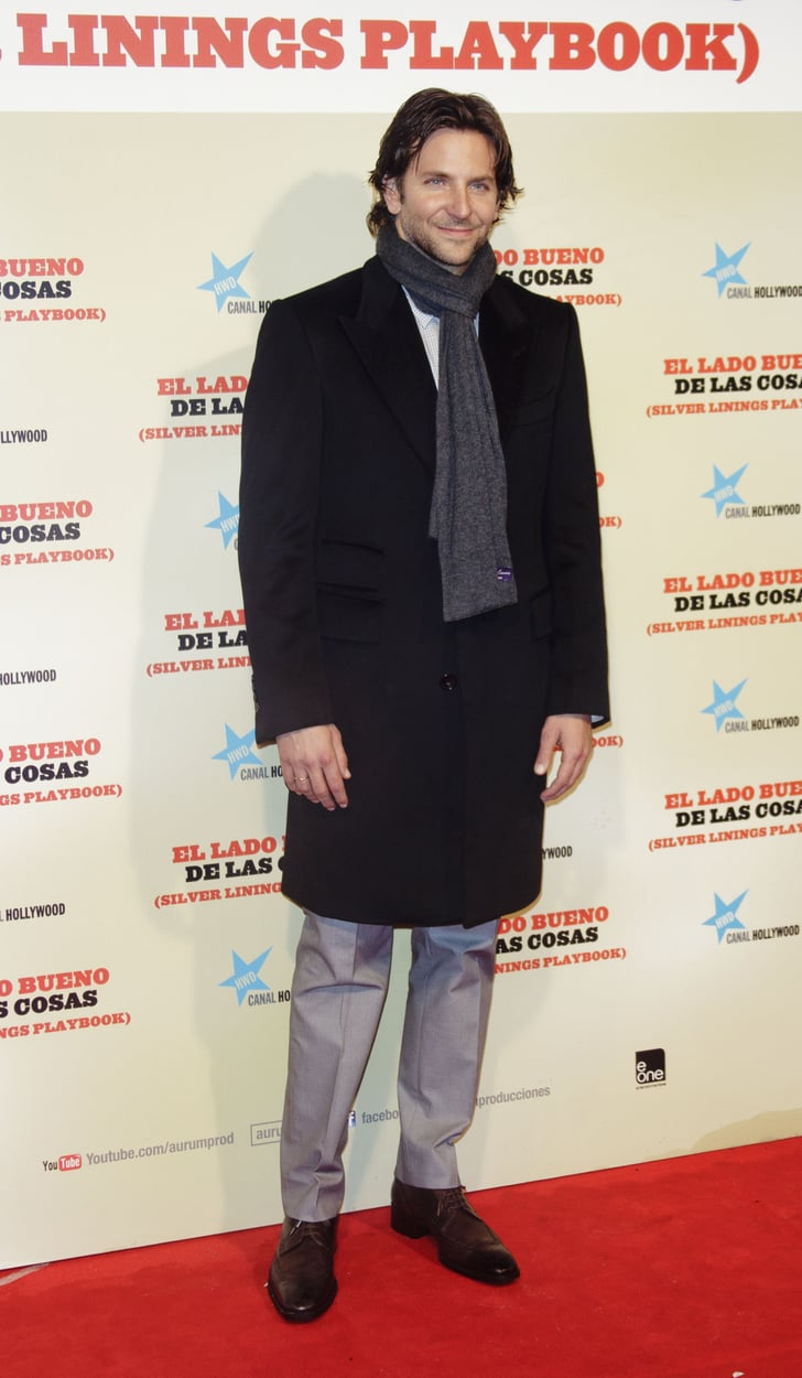 Bradley Cooper Continues His Stay in Spain to Premiere Silver Linings