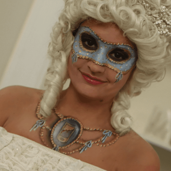 Marie Antoinette Costume and Makeup Tutorial