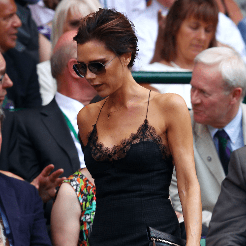 Celebrities at Wimbledon 2013