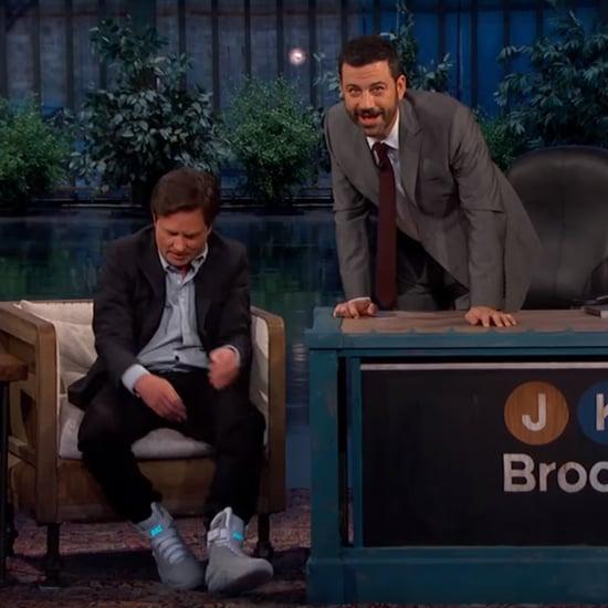 Michael J. Fox on Jimmy Kimmel Live October 2015