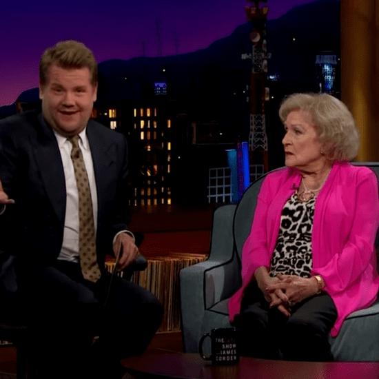 Betty White Pranks James Corden