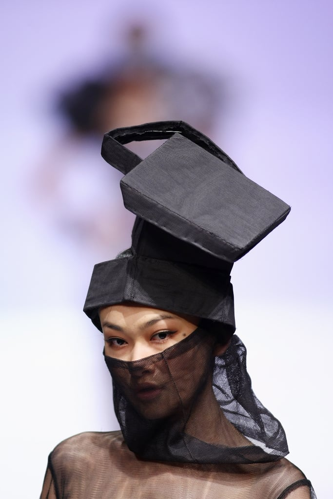 Crazy Headpieces Rule at China Fashion Week, Spring '10