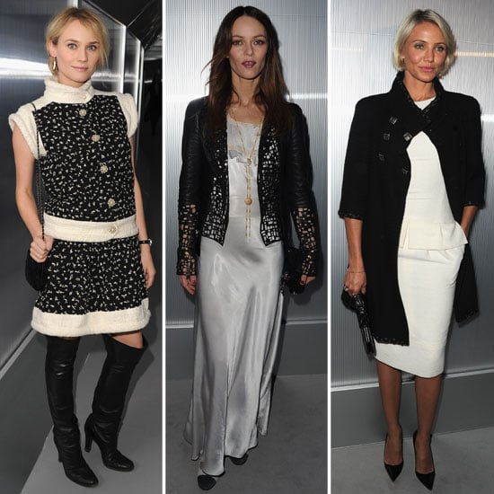 Cameron, Diane, and Vanessa Start Their Days With Chanel Couture