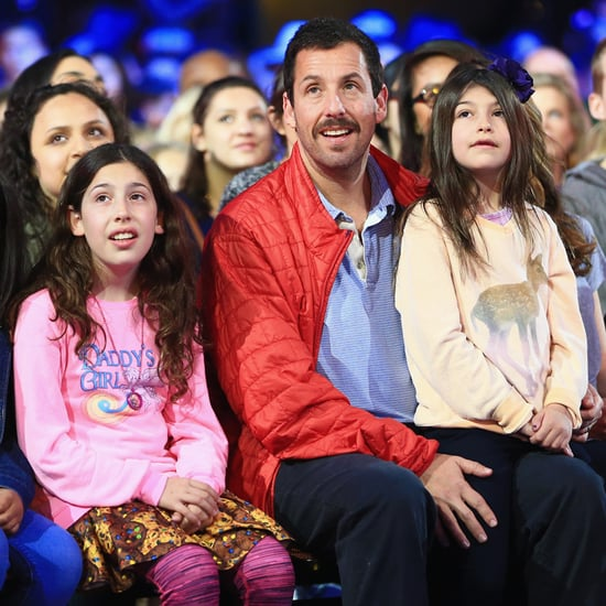 Adam Sandler and Daughters at Kids' Choice Awards 2016