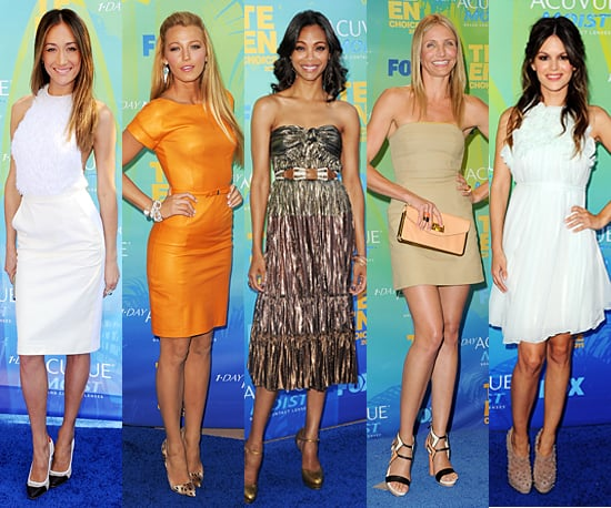 Best Dressed at 2011 Teen Choice Awards