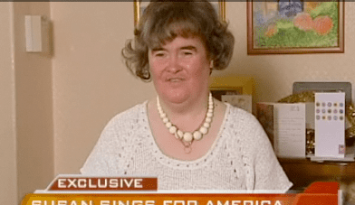 Susan Boyle: Never Been Kissed . . .