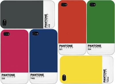 Pantone iPhone 4 Cases