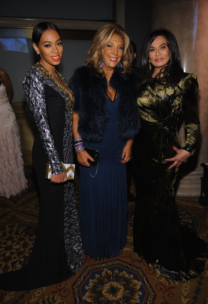 Solange Knowles and Tina Knowles attended the New York City ball.