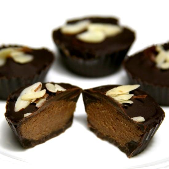 Lower-Cal Reese's Redo! Vegan Almond Butter Cups