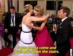 When She Teased Taylor Swift on Live TV