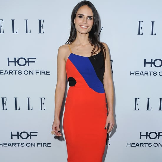 Jordana Brewster's Dress at Elle's Women in TV Event