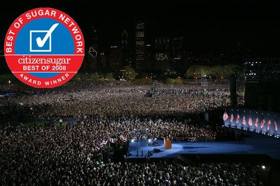 Favorite Barack Obama Moment of 2008: Election Night Victory Speech