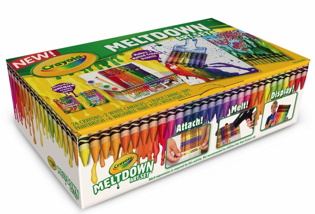 For 8-Year-Olds: Crayola Meltdown Art Set