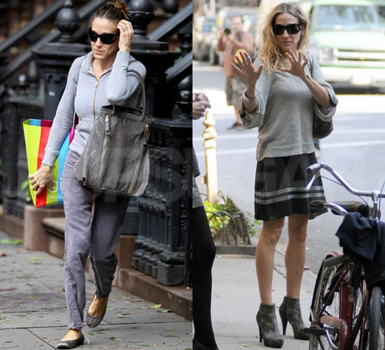 Pictures of Sarah Jessica Parker Leaving Her New York Apartment