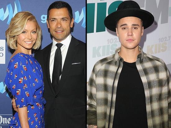 Mark Consuelos Thinks Justin Bieber's Crush on Wife Kelly Ripa is 'Fantastic'
