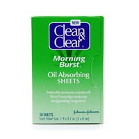 Doing Drugstore: Clean & Clear Morning Burst Oil Absorbing Sheets