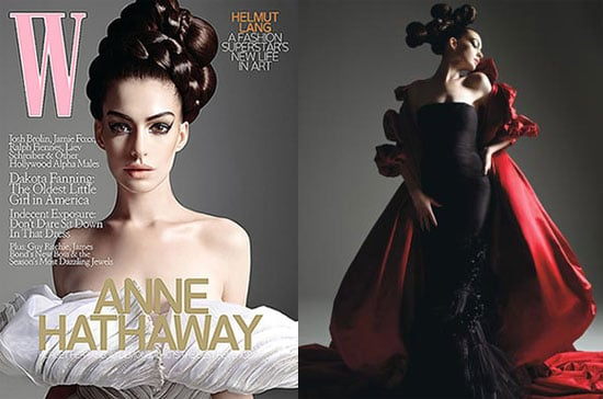 Photos and Interview From Anne Hathaway's W Magazine October 2008 Issue