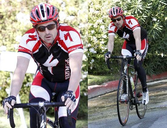 Photos of Patrick Dempsey Riding His Bike in LA