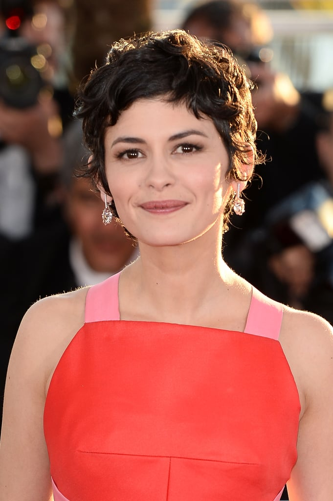 Queen of the gamine style, Audrey Tautou's choppy pixie has been her mainstay for quite a while now.