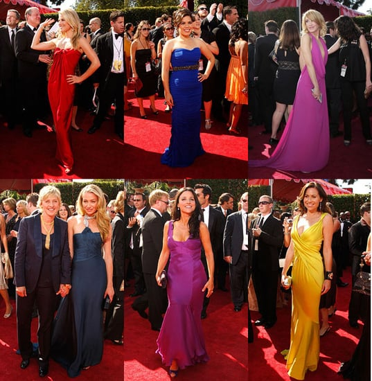 Primetime Emmy Awards: Jewel Tones