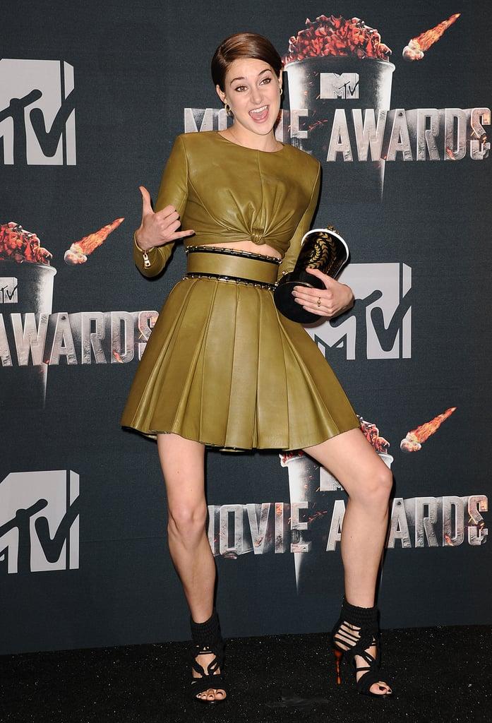 Most Intriguing Pose: Shailene Woodley