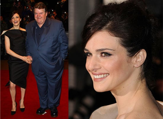 Photos Of Rachel Weisz and Robbie Coltrane from The Brothers Bloom Premiere At The 2008 London Film Festival