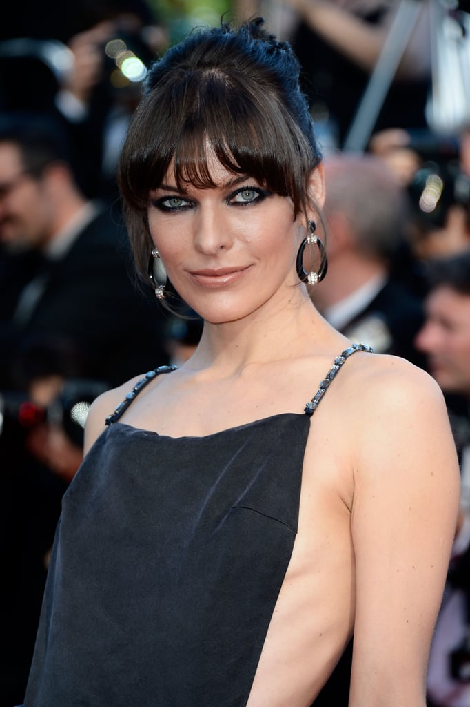 Milla Jovovich's eyes had us in a trance.