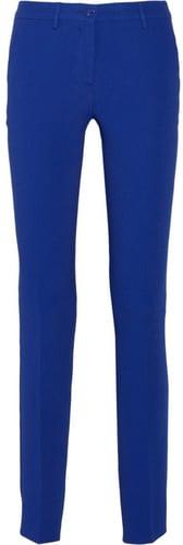 Etro Crepe high-rise straight-leg pants